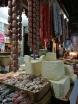 Quesos en el mercado de Bazurto