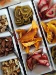 Frutos secos y deshidratados se cuentan entre los nuevos productos.