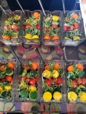 Frutas y verduras son ahora protagonistas en este concepto.