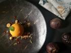 Mousse de gulupa, una de las frutas amazónicas más representativas.