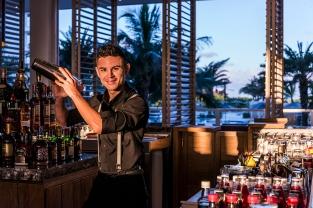 La coctelería con y sin licor juega un papel fundamental en la oferta gastronómica del Conrad.