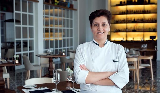 La chef Gabriela Gómez y su reto en los siete restaurantes del Conrad Cartagena